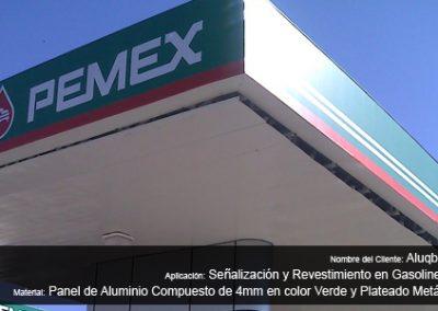 Señalización y Revestimento en Gasolineras