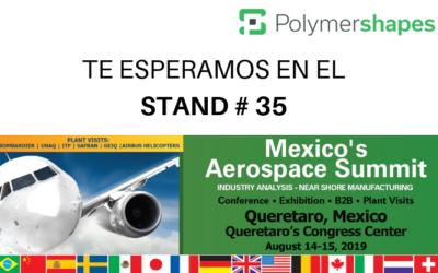 Polymershapes participara en Aerospace Summit 2019