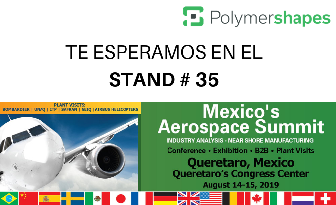 Polymershapes participara en Aerospace Summit 2019