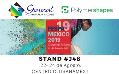 Polymershapes y General Formulations en FESPA 2019