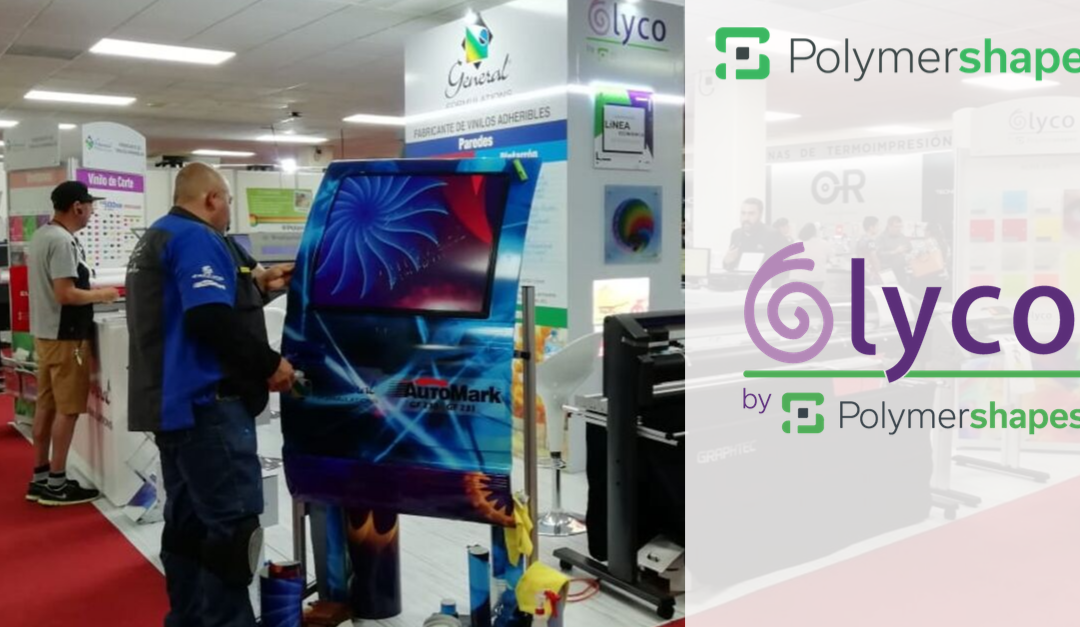 Lyco by Polymershapes presente en Expo Publicidad and Print Road Show León 2019