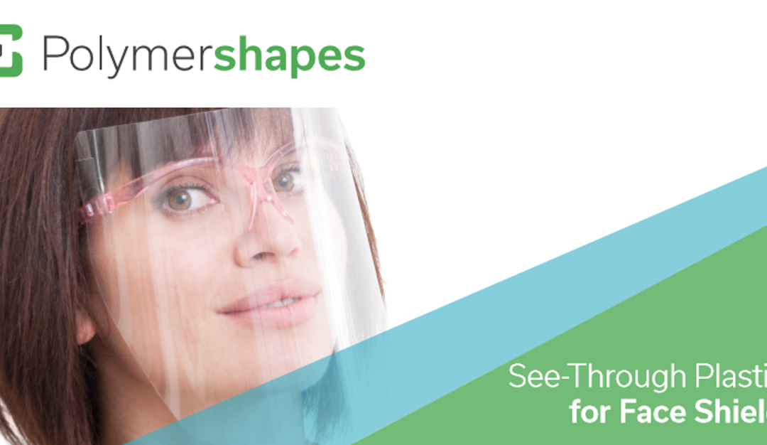 Películas plásticas transparentes ideales para la creación de mascarillas y protectores.