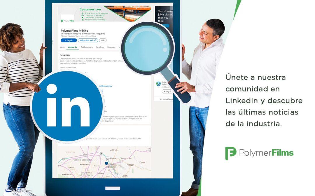 Polymerfilms ya en LinkedIn